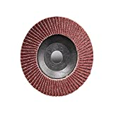Atoplee 10pcs Quick Change Grit 80# 4 Inch Angle Grinder Polishing Sanding Flap Disc Wheel Deburring
