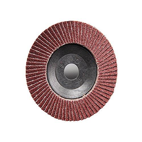Atoplee 10pcs Assorted Grit 80# 100mm Angle Grinder Sanding Flap Disc Grinder Wheel