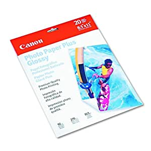 Canon Photo Paper Plus Glossy - 8.5x11 (20 sheets)