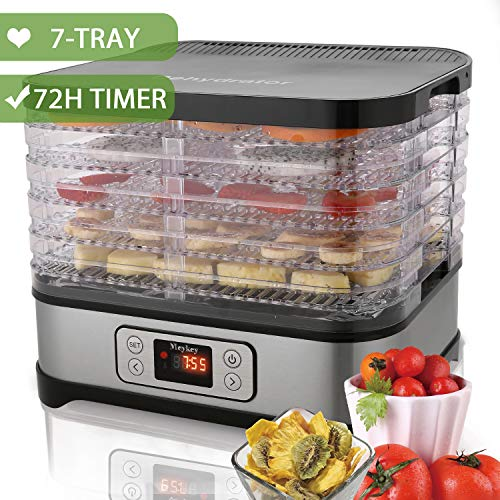 Food Dehydrator Machine by Electricity with timer/5 Trays/LC