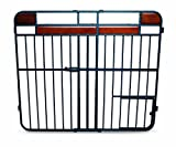 Carlson Pet Products Design Studio Extra Tall Metal Wood Expandable Pet Gate
