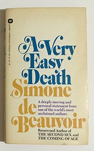 By Simone de Beauvoir A Very Easy Death [Mass Market Paperback]