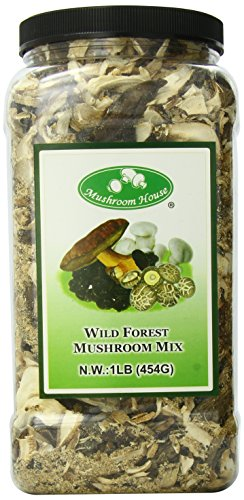 Mushroom House Dried Mushroom Forest Blend, Premium, 1 - Mushrooms Mixed Forest