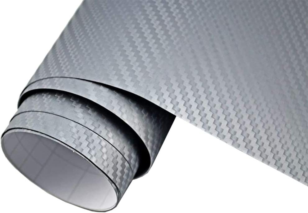 5,90€//m² 3D Carbon Folie BLAU METALLIC 400 x 152cm Auto Folie Klebefolie Dekor