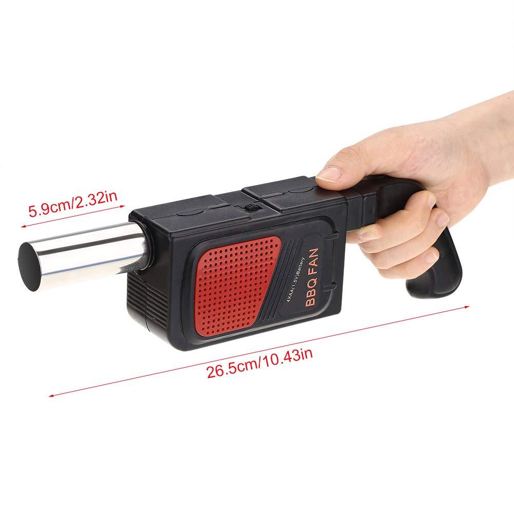 Fuego Ventilador Manual Manivela De Conducción Soplador De Aire Para Barbacoa
