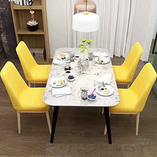 Nileco Eenkleurig parsons stoel, moderne eetstoel zacht barkruk zijstoel robuuste bureaustoelen decoratie woonkamer slaapkamer