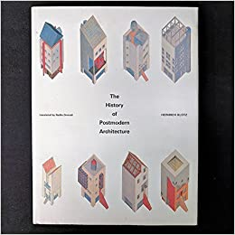 buy klotz the history of postmodern architecture cloth book