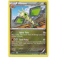 Pokemon - Vibrava (98/149) - BW - Boundaries Crossed