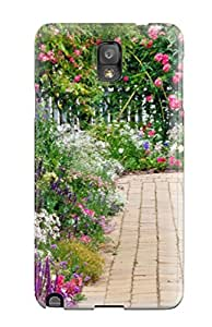 For Galaxy Note 3 Premium Tpu Case Cover Colourful Summer Garden Nature Other Protective Case