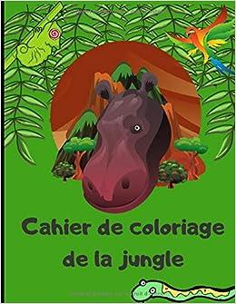 Cahier De Coloriage De La Jungle Livre De Dessins Pour Petits