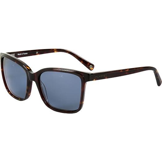 969c187470c3 Amazon.com: Vuarnet VL 1309 Sunglasses - Polarized Tortoise/ Polar Blue,  One Size: Clothing