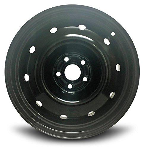Road Ready Car Wheel For 2008-2011 Subaru Impreza 16 Inch 5 Lug Black Steel Rim Fits R16 Tire - Exact OEM Replacement - Full-Size Spare (Subaru Rims Impreza)