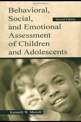 Behavioral, Social, and Emotional Assessment of Children and Adolescents by Sara Whitcomb (2002-10-01)