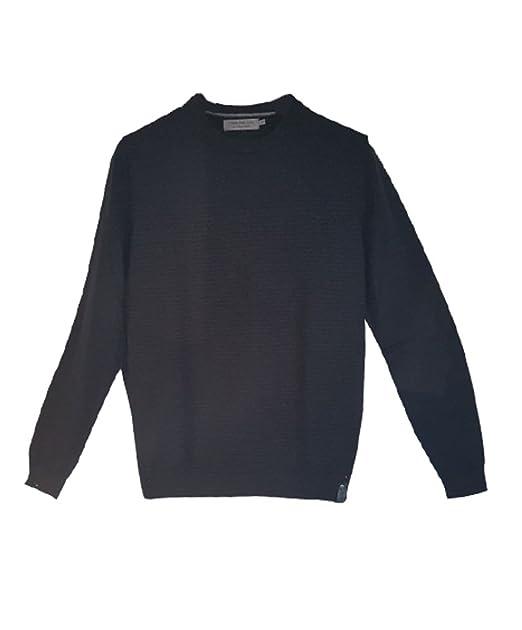 meet f4a6e 86674 Maglioncino Maglione Calvin Klein NERO Uomo XL: Amazon.it ...