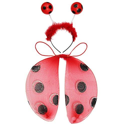 Ladybug Wing Set (Kirei Sui Kids Wings Set Ladybug)