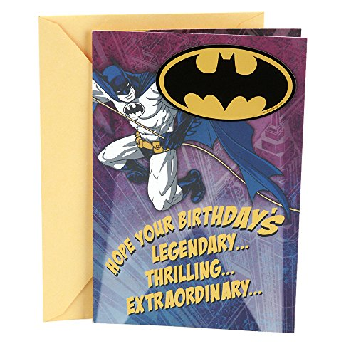 Hallmark Birthday Card (Batman Magnet)