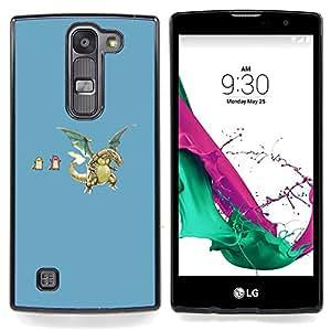 - Funny P0Kemons - - Cubierta del caso de impacto con el patr??n Art Designs FOR LG Volt 2 / LG G4 Mini (G4c) Queen Pattern