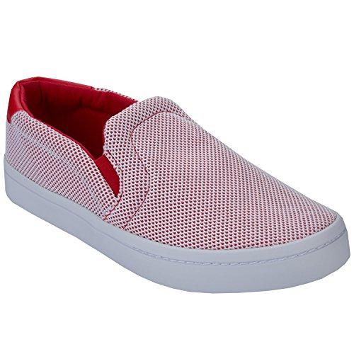 Court 2 rosso 44 Slip Uomo 3 adidas Scarpe Sneaker On wxY8UYCqt