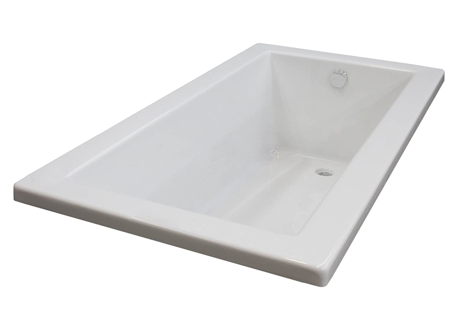 Bronzino 32 x 72 Rectangular Soaking Drop-In Bathtub - Soaker Tub ...