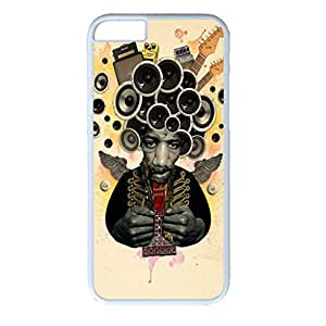 Cool Boy Customized Design PC White Case for Iphone 6 Sound