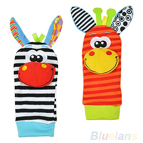 Lovely Infant Baby Socks Rattles product image