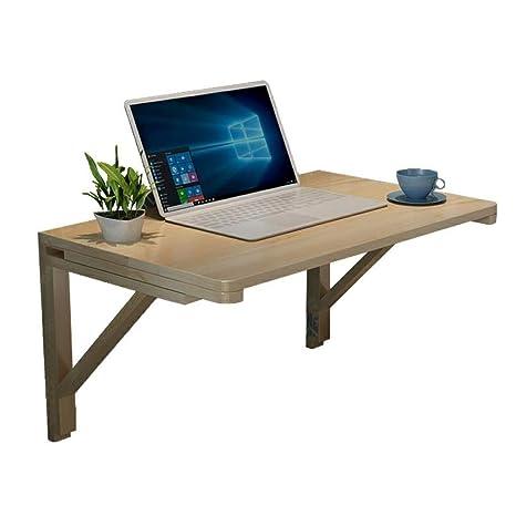 Amazon.com: Mesa plegable de madera maciza con hoja de gota ...
