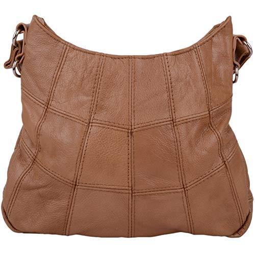 Piel Lorenz tenné Bag Latest On Mujer Trend Style Bolso qqaxwtFgAS