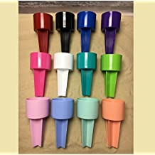 SPIKER Lifestyle Holder: for the beach & sofa: holds drinks & more. Set of 12 assorted colors, decorate as you wish