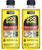 Goo Gone Pro-Power Adhesive Remover - 8 Ounce [ 2 Pack ] - Use On Silicone, Caulk, Contractor's Adhesive, Tar, Adhesive and More