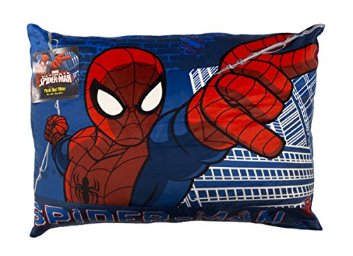 "Marvel Spiderman Standard Size 20"" x 26"" Bed Pillow"