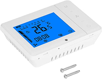 Spina Europea 200-240 V Cafopgrill HY02TPR Termostato di Riscaldamento Digitale Presa Radio Termostato di Riscaldamento Digitale Regolatore di Temperatura