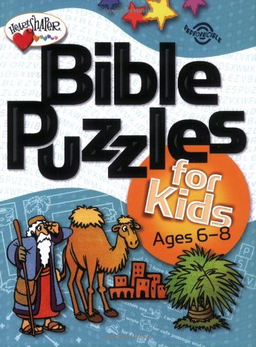 Bible Puzzles for Kids (Ages 6-8) (HeartShaper Resources—Elementary)