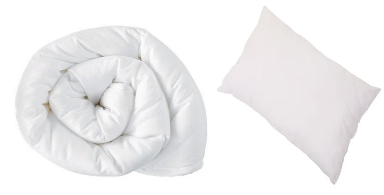 4.5 Tog 120cm x 150cm Junior//Toddler Cot Bed Duvet And Pillow Set Anti Allergy