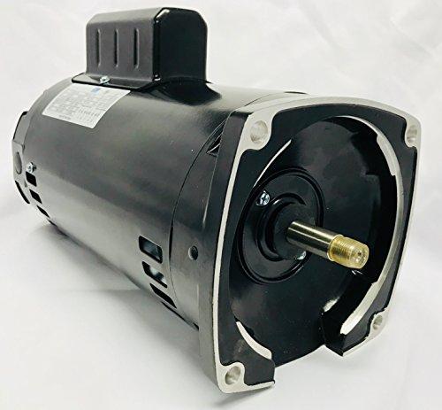 GW YYN5672-L7 1.5 HP, 3450RPM, 1.3 Service Factor, Nema 56Y Frame, ODP Enclosure, 115V/208-230V, Square Flange Pool Motor (56y Frame)