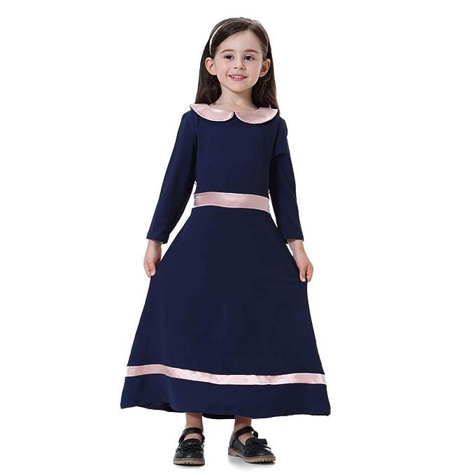 size 40 4b5a3 62e24 UOMOGO Vestiti da Bambina Musulmano,Eleganti Dubai ...