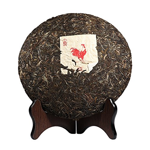 Pu-erh Tea 2017 Chinese Tea Rooster Gift Box Zodiac commemorative cake Pu-erh Tea 888g/Set Tea 普洱茶 2017年中茶 鸡年礼盒生肖纪念饼 普洱生茶 888克/套 茶叶 puerh tea puer tea