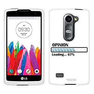 LG Leon Case, Snap On Cover by Trek Opinion Progress Bar Case