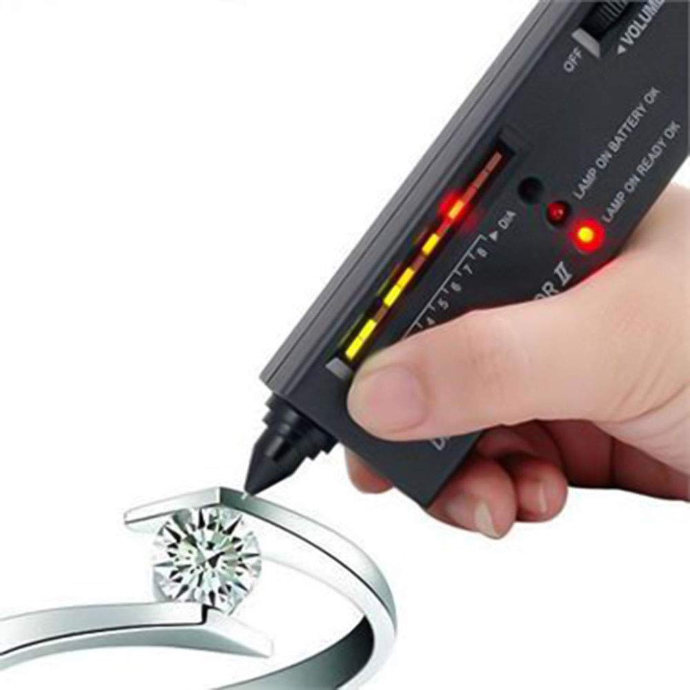 Cozywind 1 pcs Jewelry Tool Diamond Detector Electronic Diamond Selector Gemstone Gems Tester II