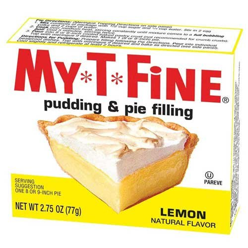 pie filling lemon - 2