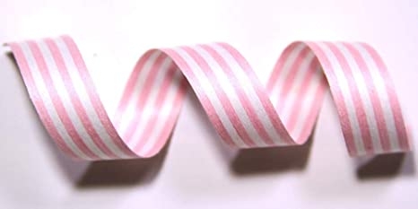 Cotton Curling Ribbon Prints /& Stripes Holiday Ribbon Red /& White Crimped, 5//8 x 100 Yards 100/% Biodegradable Natural Ribbon Eco-Friendly Ribbon Wrapping Ribbon Ribbon for Crafts