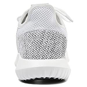 T&Mates Womens Comfort Slip-on Lace-Up Lightweight Low Top Flat Knitted Fashion Sneakers (7.5 B(M)US,White)