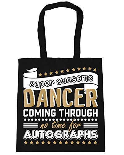 Bolso Autographs Compra 10 Negro Gimnasio Bolsa Through Litros 38cm Para Coming For Asas Con De No Awesome X Capacidad Playa 42cm Hippowarehouse Dancer Super Time Oqxwzp84p
