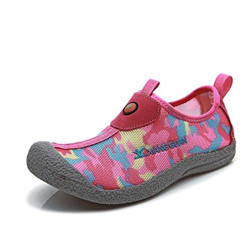 Xiang Guan Damen Camo Outdoor Sport Atmungsaktiv Slip On Camping Wandern Schuhe Sommer Strand Surf Slipper Wasserschuhe Pink