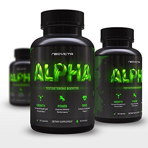 Meilleur Booster de testostérone - supplément de valorisation des hommes tout à fait naturelle pour augmenter la taille, énergie, force & - Alpha par Neovicta - organiques pilules Libido - un complexe anabolisant force sûre, professionnelle - offre an