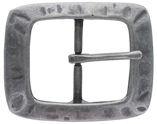 Single Prong Center Bar Replacement Belt Buckle 1-1/2