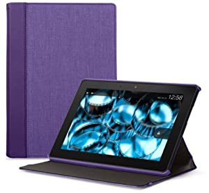 Belkin Chambray Case for Kindle Fire HDX 8.9, Purple (will fit 3rd and 4th generation) from Belkin Inc.