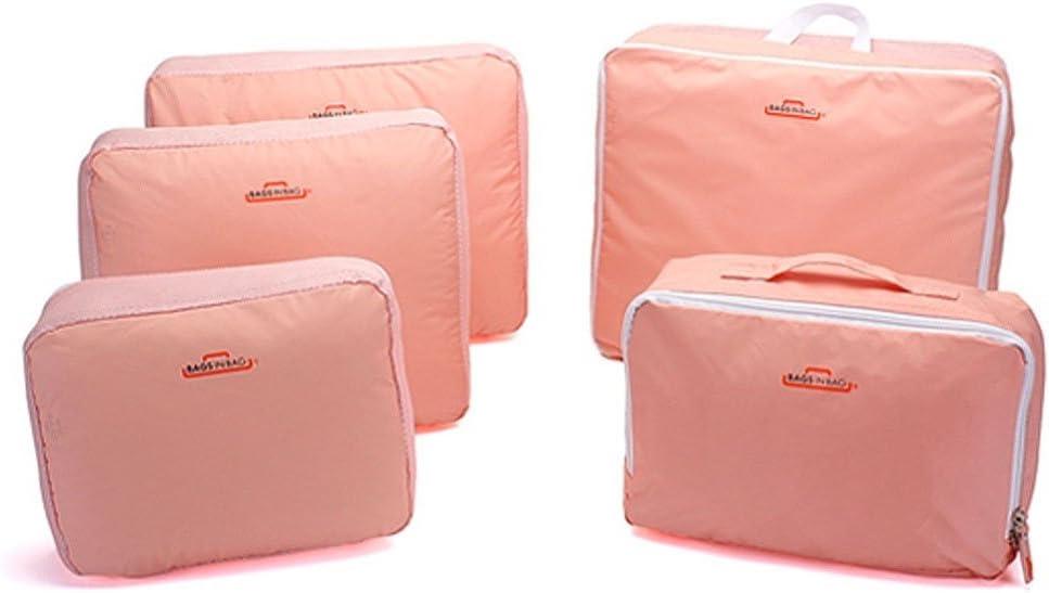Set de 5 organizadores organizador equipaje maleta viaje bolsa ...