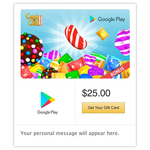 Amazon.com: Código de regalo de Google Play - Envío por ...