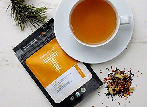 Turmeric Teas DAWN - Energizing Organic Turmeric Chai Tea. L