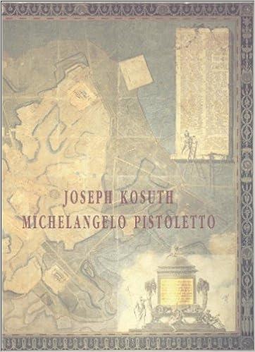 joseph kosuth michelangelo pistoletto exhibition rome english and italian edition